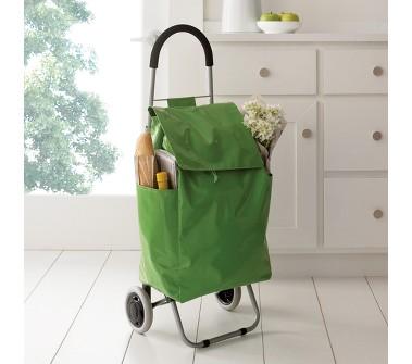 mega cool green shopping trolley