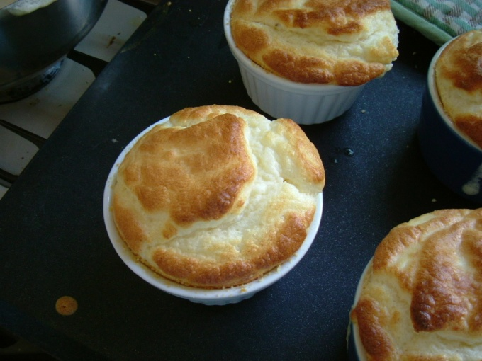 my first souffle